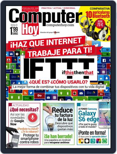 Computer Hoy May 8th, 2015 Digital Back Issue Cover
