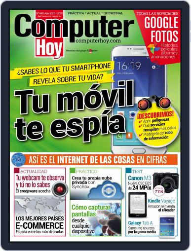 Computer Hoy (Digital) August 14th, 2015 Issue Cover