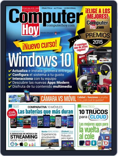 Computer Hoy (Digital) September 11th, 2015 Issue Cover