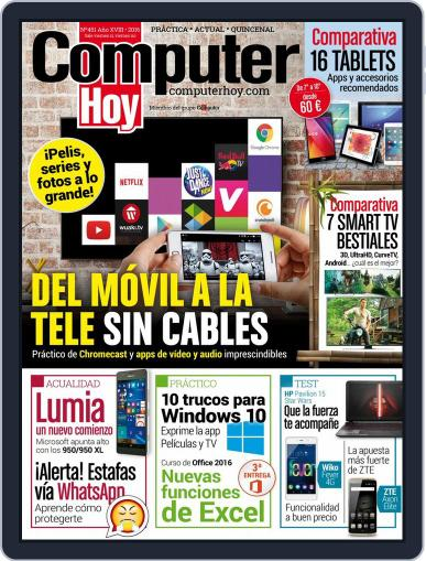 Computer Hoy (Digital) January 19th, 2016 Issue Cover