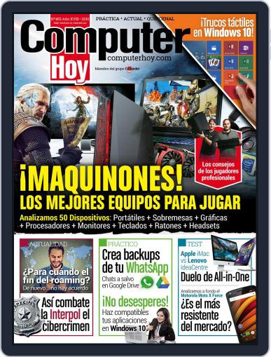 Computer Hoy (Digital) February 12th, 2016 Issue Cover