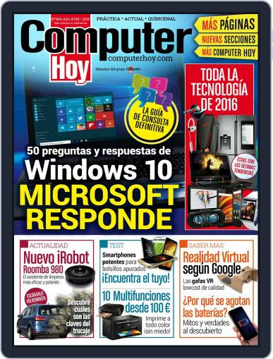 Computer Hoy (Digital) February 26th, 2016 Issue Cover