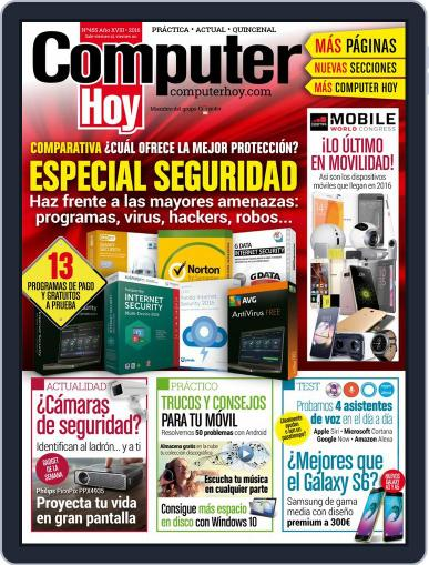 Computer Hoy (Digital) March 11th, 2016 Issue Cover
