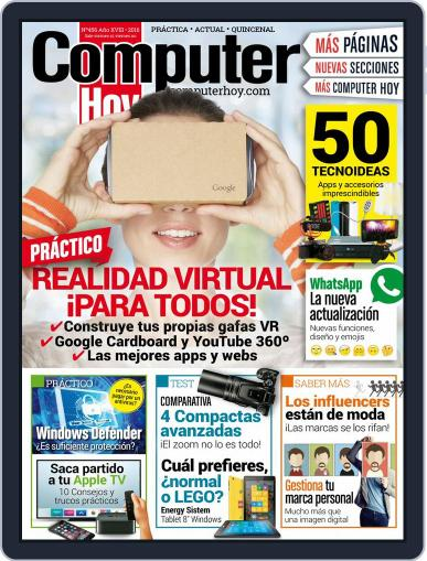 Computer Hoy (Digital) March 23rd, 2016 Issue Cover