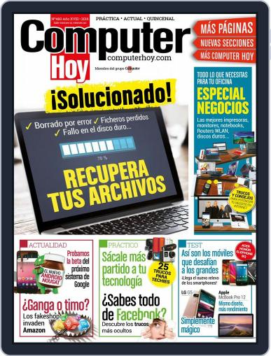 Computer Hoy (Digital) May 20th, 2016 Issue Cover