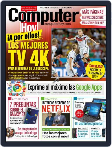 Computer Hoy June 3rd, 2016 Digital Back Issue Cover