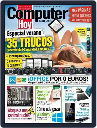 Computer Hoy (Digital) July 1st, 2016 Issue Cover