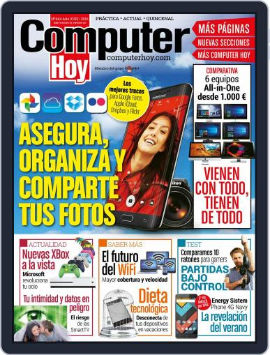 Computer Hoy July 14th, 2016 Digital Back Issue Cover