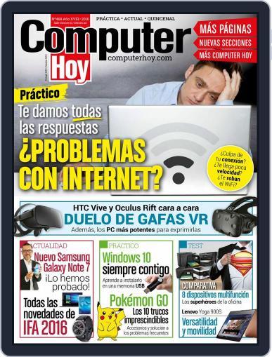 Computer Hoy September 1st, 2016 Digital Back Issue Cover