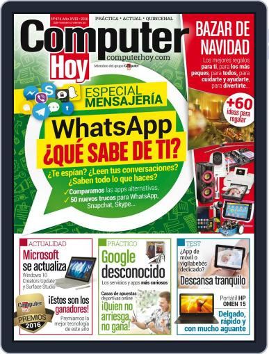 Computer Hoy (Digital) December 1st, 2016 Issue Cover