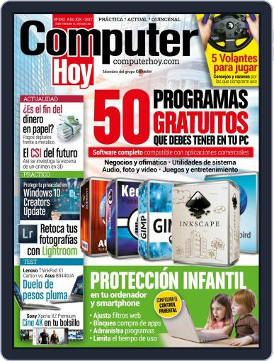Computer Hoy (Digital) August 11th, 2017 Issue Cover