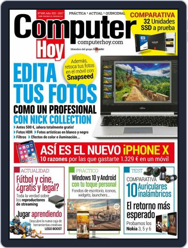 Computer Hoy (Digital) September 22nd, 2017 Issue Cover