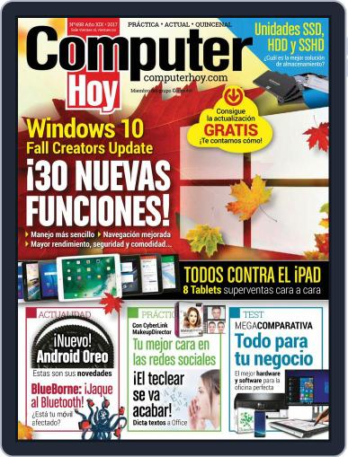 Computer Hoy (Digital) November 3rd, 2017 Issue Cover