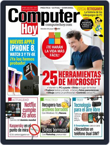 Computer Hoy (Digital) November 5th, 2017 Issue Cover
