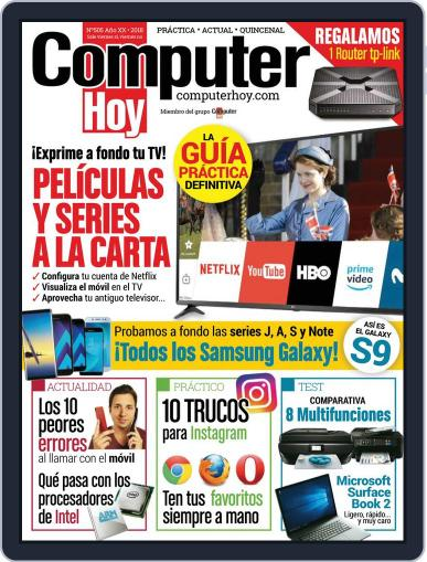 Computer Hoy (Digital) February 9th, 2018 Issue Cover