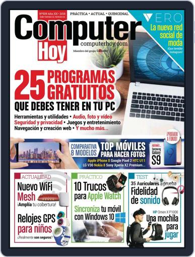 Computer Hoy (Digital) April 6th, 2018 Issue Cover