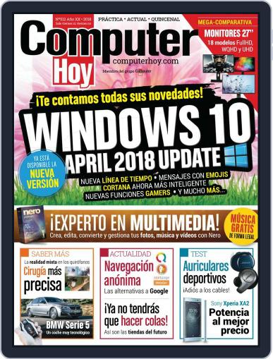 Computer Hoy (Digital) May 18th, 2018 Issue Cover
