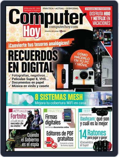 Computer Hoy (Digital) July 15th, 2018 Issue Cover