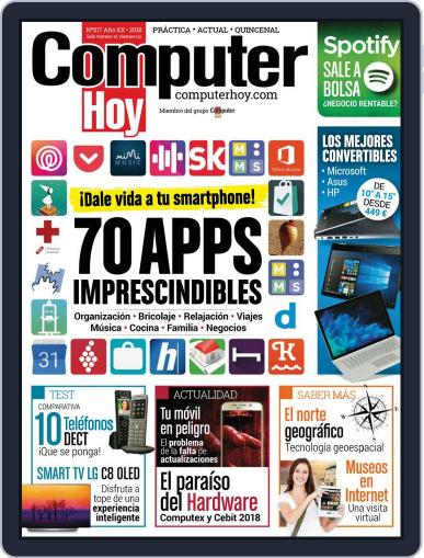 Computer Hoy (Digital) July 29th, 2018 Issue Cover