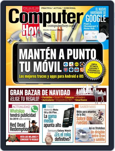 Computer Hoy (Digital) November 28th, 2018 Issue Cover