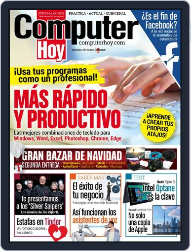 Computer Hoy (Digital) December 12th, 2018 Issue Cover