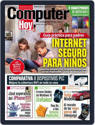 Computer Hoy (Digital) September 5th, 2019 Issue Cover