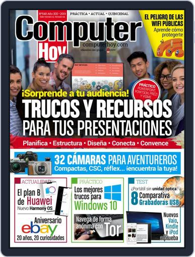 Computer Hoy (Digital) October 3rd, 2019 Issue Cover