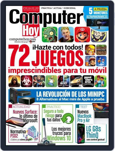 Computer Hoy October 31st, 2019 Digital Back Issue Cover