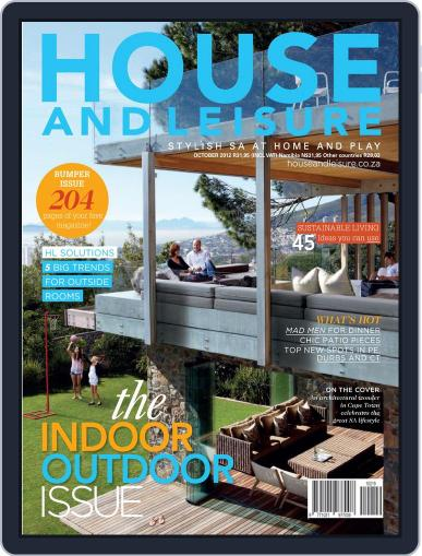 House and Leisure September 16th, 2012 Digital Back Issue Cover
