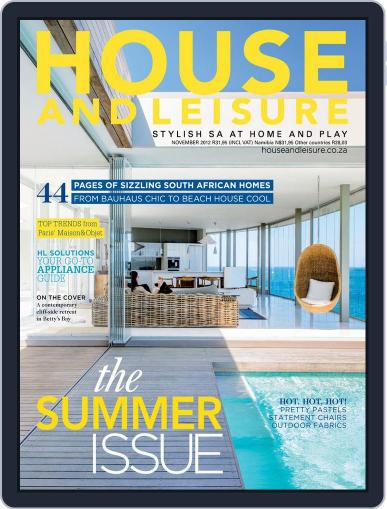 House and Leisure (Digital) October 14th, 2012 Issue Cover