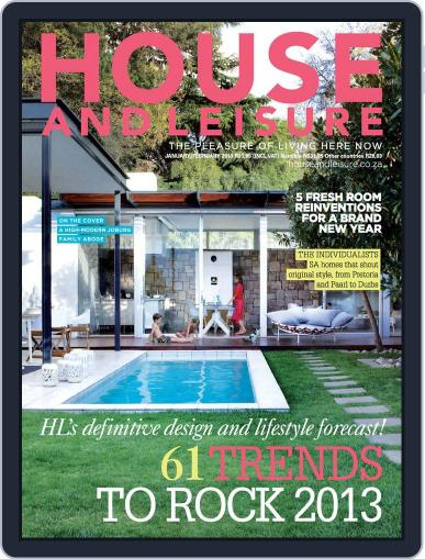 House and Leisure (Digital) December 16th, 2012 Issue Cover
