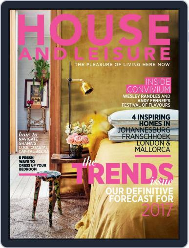 House and Leisure (Digital) January 1st, 2017 Issue Cover