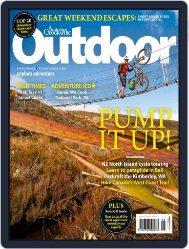 Australian Geographic Outdoor November 12th, 2014 Digital Back Issue Cover
