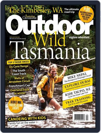 Australian Geographic Outdoor July 15th, 2015 Digital Back Issue Cover