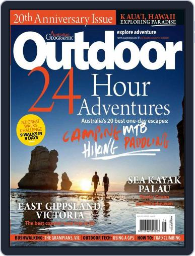 Australian Geographic Outdoor September 15th, 2015 Digital Back Issue Cover