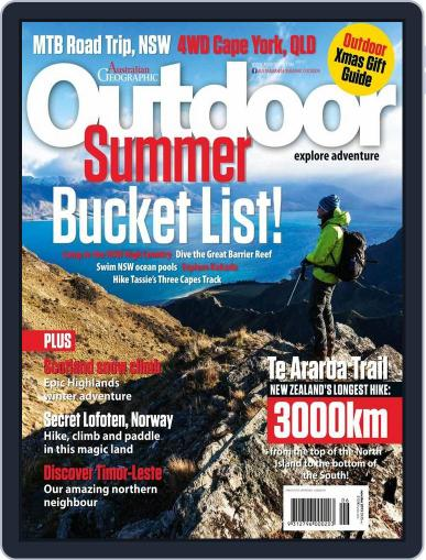 Australian Geographic Outdoor (Digital) November 11th, 2015 Issue Cover