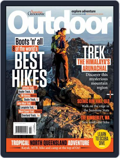 Australian Geographic Outdoor March 16th, 2016 Digital Back Issue Cover