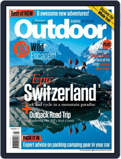 Australian Geographic Outdoor (Digital) September 1st, 2016 Issue Cover