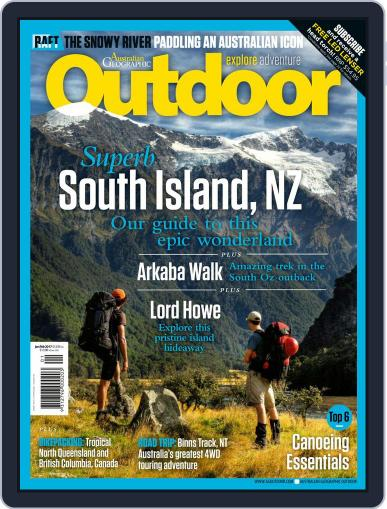 Australian Geographic Outdoor (Digital) January 1st, 2017 Issue Cover