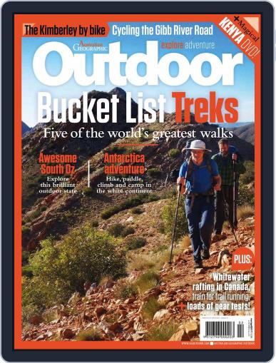 Australian Geographic Outdoor March 8th, 2017 Digital Back Issue Cover