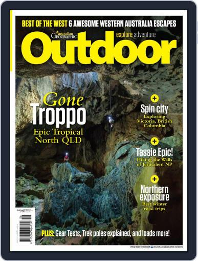Australian Geographic Outdoor July 1st, 2017 Digital Back Issue Cover
