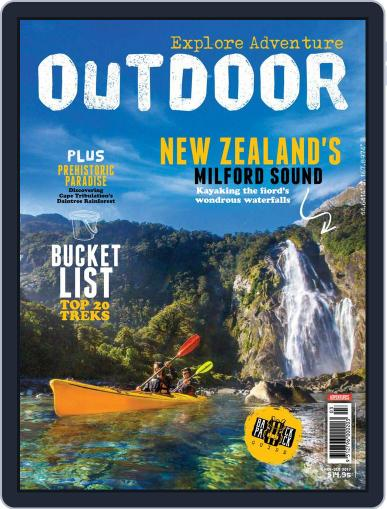 Australian Geographic Outdoor (Digital) November 1st, 2017 Issue Cover