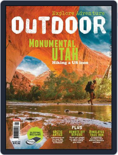 Australian Geographic Outdoor (Digital) January 1st, 2018 Issue Cover