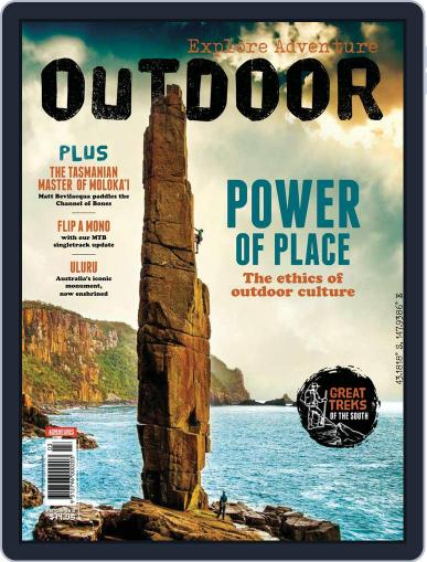 Australian Geographic Outdoor (Digital) May 1st, 2018 Issue Cover