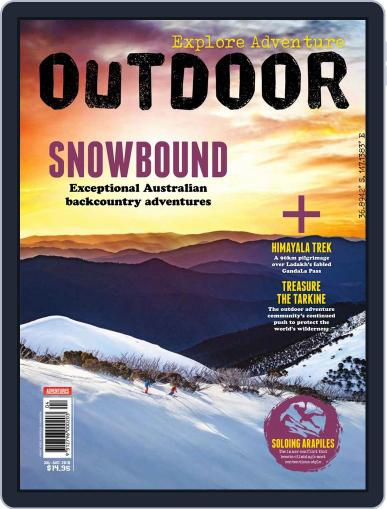 Australian Geographic Outdoor (Digital) July 1st, 2018 Issue Cover