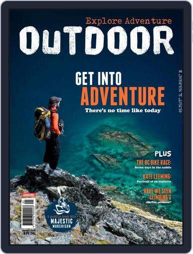 Australian Geographic Outdoor (Digital) September 1st, 2018 Issue Cover