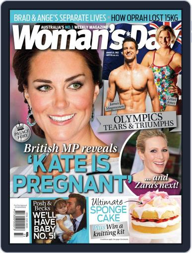 Woman's Day Australia (Digital) August 6th, 2012 Issue Cover
