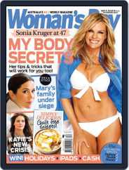 Woman's Day Australia (Digital) Subscription August 13th, 2012 Issue