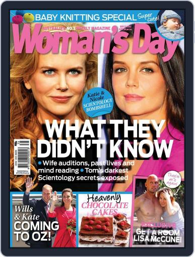 Woman's Day Australia September 9th, 2012 Digital Back Issue Cover