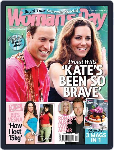 Woman's Day Australia (Digital) September 23rd, 2012 Issue Cover